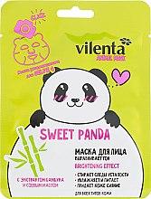 Духи, Парфюмерия, косметика Маска для лица с экстрактом бамбука и соевым маслом - Vilenta Animal Mask Sweet Panda