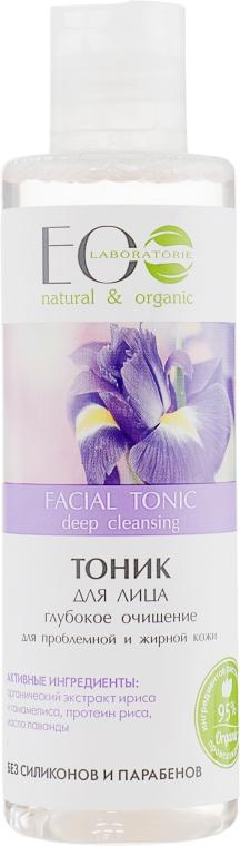 """Тоник для лица """"Глубокое очищение"""" для проблемной и жирной кожи - ECO Laboratorie Facial Tonic"""