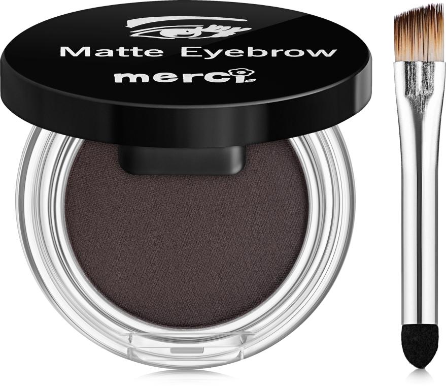Матовые тени для бровей - Merci Matte Eyebrow