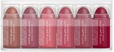 Набор - Golden Rose Matte Lipsticks Mini Set (lip/st/6pcs)