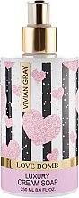 Духи, Парфюмерия, косметика Жидкое крем-мыло - Vivian Gray Love Bomb Luxury Cream Soap