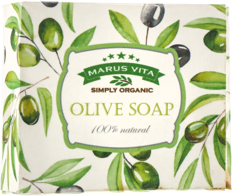 "Мыло ""Кастильское"" - Marus Vita Olive Soap"