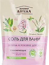 """Парфумерія, косметика Сіль для ванни тонізувальна """"Вербена та рожеве дерево"""" - Зеленая Аптека"""