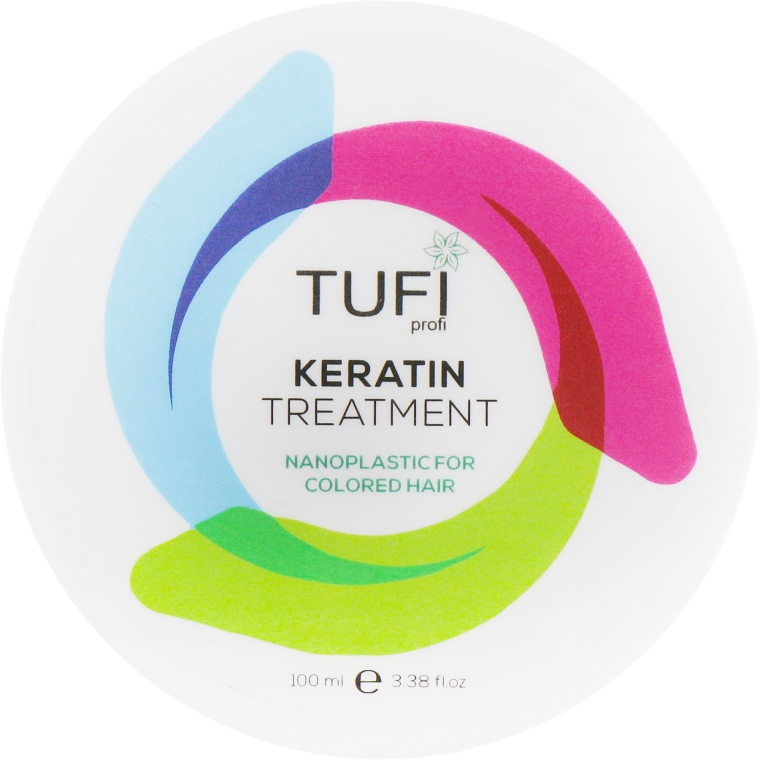 Кератин-нанопластика для окрашенных волос - Tufi Profi Nanoplastic For Colored Hair