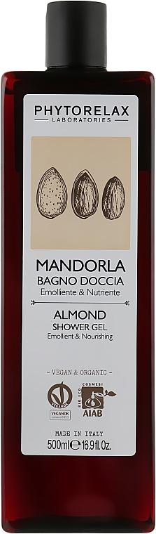 Гель для душа увлажняющий - Phytorelax Laboratories Almond Shower Gel