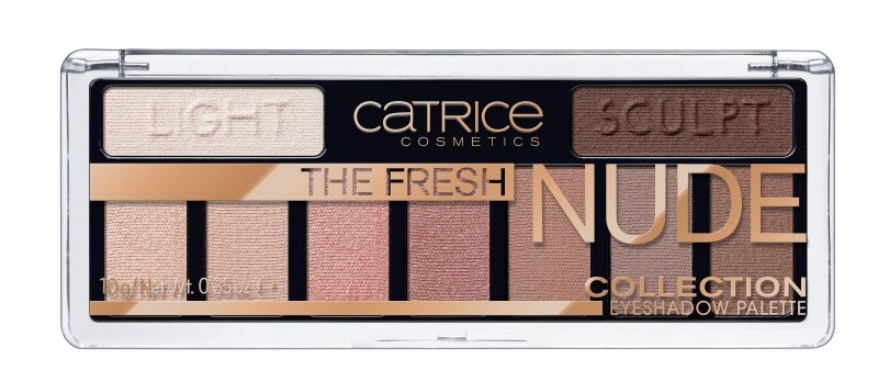 Палетка теней - Catrice The Fresh Nude Collection Eyeshadow Palette