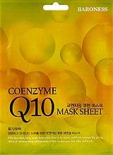 Духи, Парфюмерия, косметика Тканевая маска антивозрастная - Beauadd Baroness Mask Sheet Q10