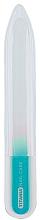 Духи, Парфюмерия, косметика Маникюрная стеклянная двухсторонняя пилочка, голубая - Titania Double Sided Glass Nail File