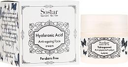 Духи, Парфюмерия, косметика Антивозрастной крем для лица с гиалуроновой кислотой - Sostar Hyaluronic Acid Anti-Aging Face Cream
