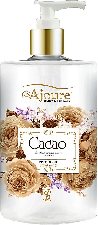 """Крем-мыло для рук """"Какао"""" - Ajoure"""