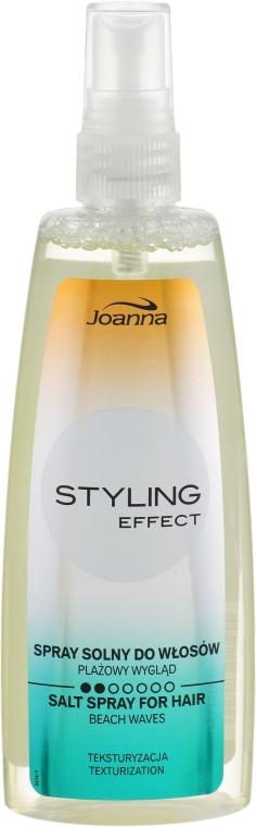 Солевой спрей для формирования локонов - Joanna Styling Effect Fluorescent Line Texturizing Salt Spray