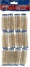 Духи, Парфюмерия, косметика Бигуди 21/63 мм, синие - Ronney Wire Curlers