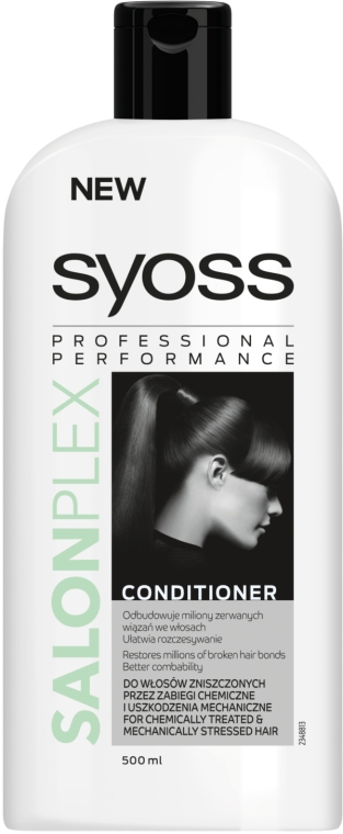 Кондиционер для ослабленных механическим воздействием волос - Syoss SalonPlex Hair Conditioner