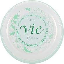 """Духи, Парфюмерия, косметика Кремовый ремувер """"Зеленый чай"""" для снятия ресниц - Vie de Luxe Creen Tea Cream Remover"""
