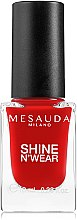 Духи, Парфюмерия, косметика Лак для ногтей - Mesauda Milano Shine N`Wear Nail Polish