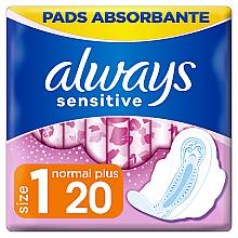 Духи, Парфюмерия, косметика Гигиенические прокладки, 20шт - Always Ultra Sensitive Normal Plus