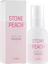 Есенція для очищення на звуження пор - A'pieu Stone Peach Pore Less Tightener — фото N1