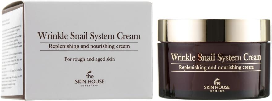 Антивозрастной крем на основе улиток - The Skin House Wrinkle Snail System Cream