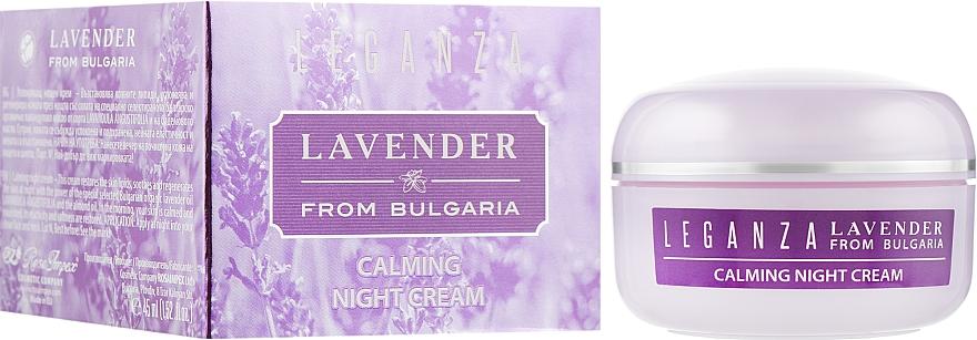 Восстанавливающий ночной крем - Leganza Lavender Calming Night Cream