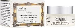 Духи, Парфюмерия, косметика Антивозрастной крем для лица - Sostar Anti-ageing Face Cream Enriched With Donkey Milk