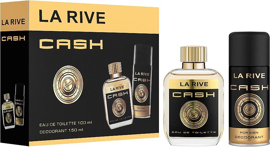 La Rive Cash - Набор (edt/100ml + deo/150ml)