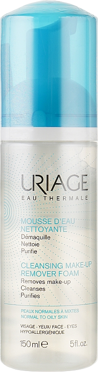 Очищающий мусс - Uriage Cleansing Make-up Remover Foam
