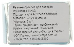 Резинка для волос - Invisibobble Nano Crystal Clear — фото N3