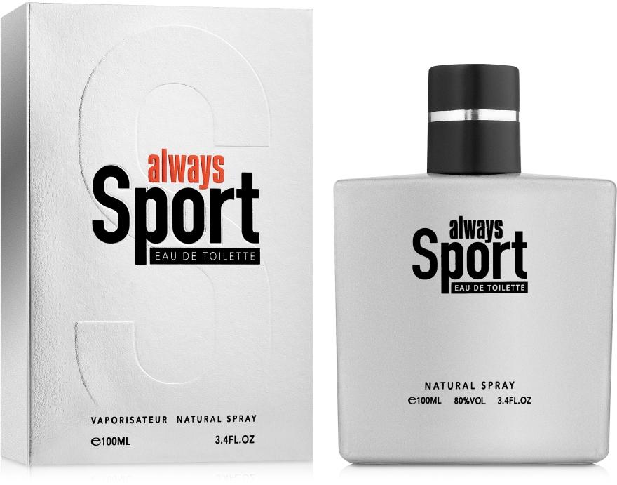 Cosmo Designs Always Sport - Туалетная вода — фото N1