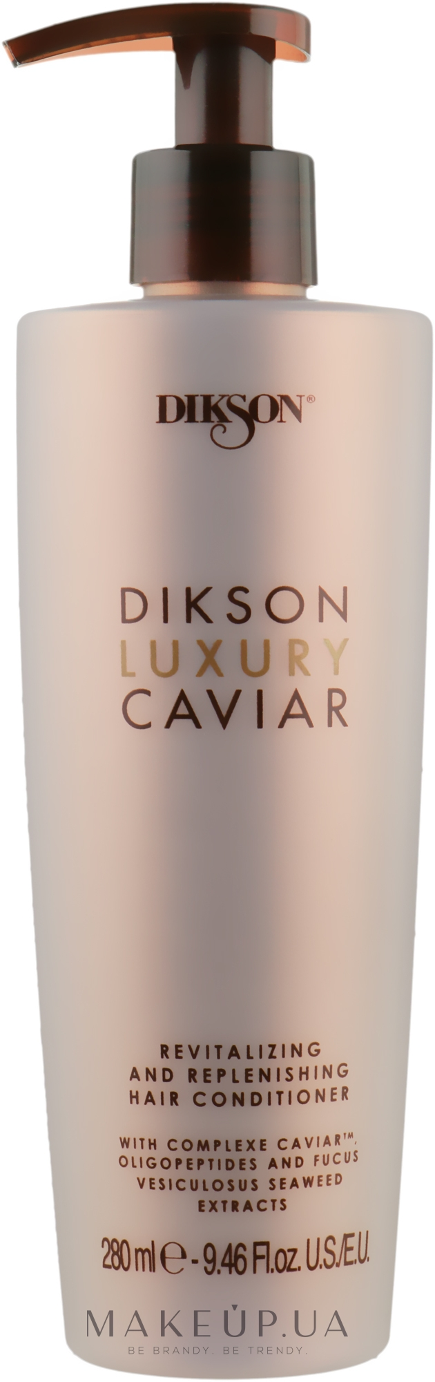 Ревіталізуючий і наповнюючий кондиціонер - Dikson Luxury Caviar Conditioner — фото 280ml