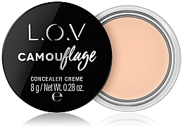 Духи, Парфюмерия, косметика Кремовый консилер для лица - L.O.V Camouflage Concealer Creme