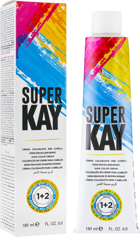 Крем-краска для волос - KayPro Super Kay Hair Color Cream