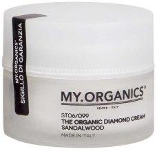 Духи, Парфюмерия, косметика Бриллиантовый крем для питания волос с маслом сандалового дерева - My.Organics Diamond Cream