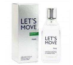 Духи, Парфюмерия, косметика Benetton Let's Move - Туалетная вода