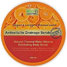 Духи, Парфюмерия, косметика Антицелюлітний скраб, апельсиновий - Eco-in Cosmetic Anticellulite Drainage Scrub