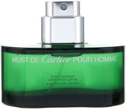 Духи, Парфюмерия, косметика Cartier Must de Cartier Pour Homme Essence - Туалетная вода (тестер без крышечки)