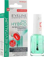 Парфумерія, косметика Гібридна сироватка для нігтів - Eveline Cosmetics Nail Therapy Professional Pro Hybrid Regenerating Serum