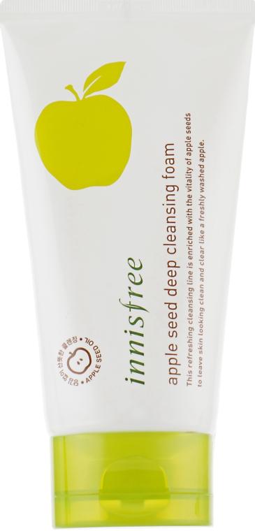 Пенка для лица с экстрактом яблока - Innisfree Apple Seed Deep Cleansing Foam