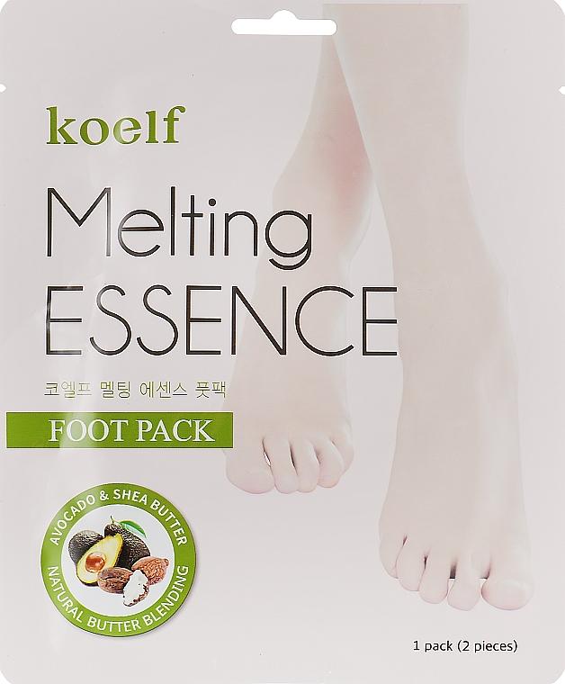 Маска для ног - Petitfee&Koelf Melting Essence Foot Pack
