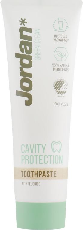 Зубная паста - Jordan Green Clean Cavity Protect