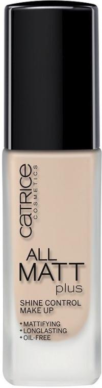 Матирующая тональная основа под макияж - Catrice All Matt Plus Shine Control Make Up