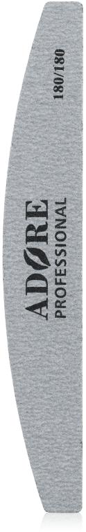 Пилка для ногтей, 180/180 - Adore Professional