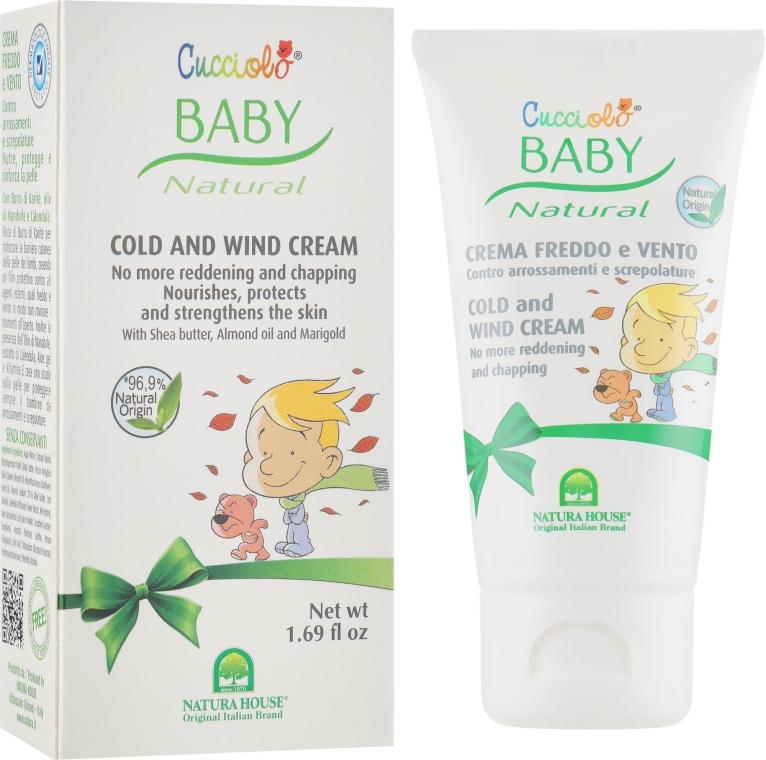 Защитный крем от ветра и холода - Natura House Cucciolo Baby