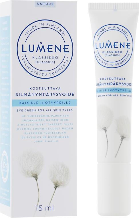 Восстанавливающий крем для кожи вокруг глаз - Lumene Klassikko Moisturizing Eye Cream