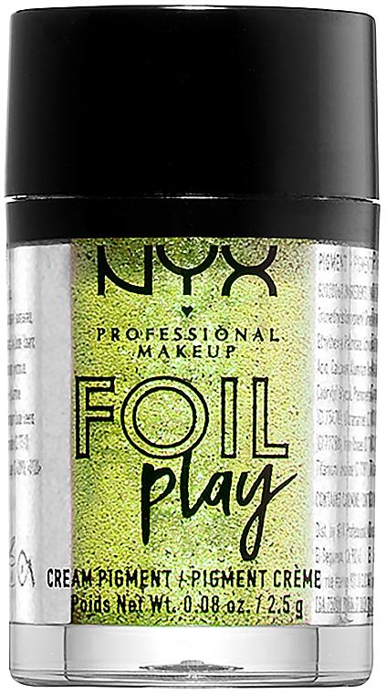 Кремовый пигмент для век и лица - NYX Professional Makeup Foil Play Cream Pigment