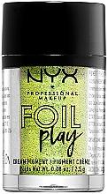 Духи, Парфюмерия, косметика Кремовый пигмент для век и лица - NYX Professional Makeup Foil Play Cream Pigment
