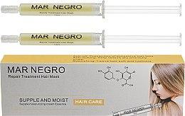 Духи, Парфюмерия, косметика Филлер для волос - Mar Negro Repair Treatment Mask