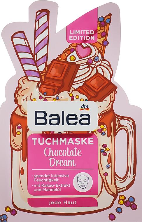 Листовая маска - Balea Chocolate Dream