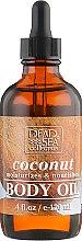 Духи, Парфюмерия, косметика Масло для тела с минералами Мертвого моря и и маслом кокоса - Dead Sea Collection Coconut Body Oil