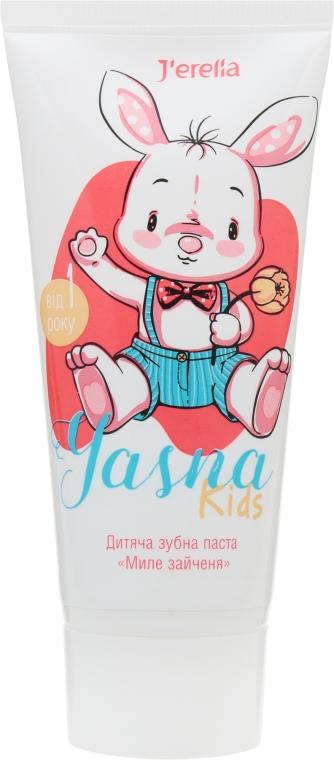 """Детская зубная паста """"Милый зайчонок"""" - J'erelia Yasha"""