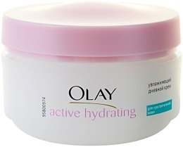 Духи, Парфюмерия, косметика Увлажняющий дневной крем для чувствительной кожи - Olay Active Hydrating